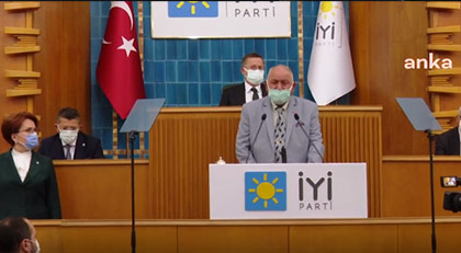 Kürsüye çıkan esnaftan Erdoğan'a: Ben sana ne helalliği vereceğim