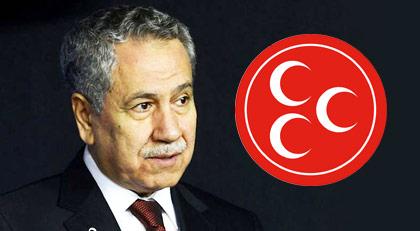 MHP'nin hedefinde Arınç var: Kahpe Bizans