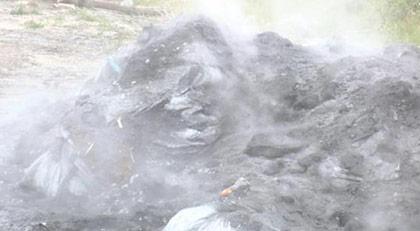 İstanbul'da kimyasal atık alarmı