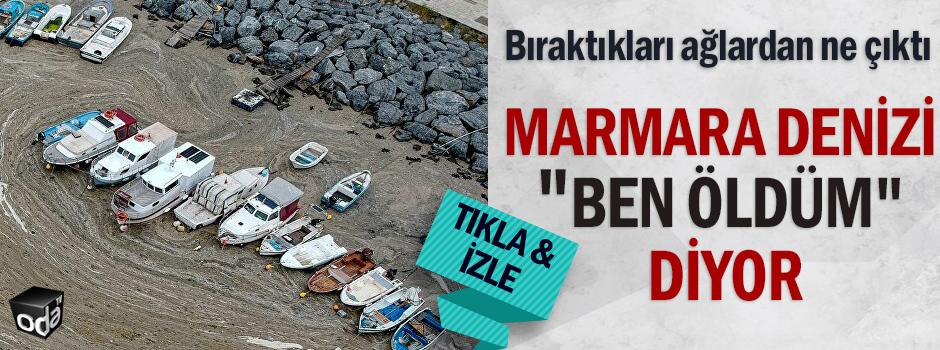 Marmara denizi ben öldüm diyor
