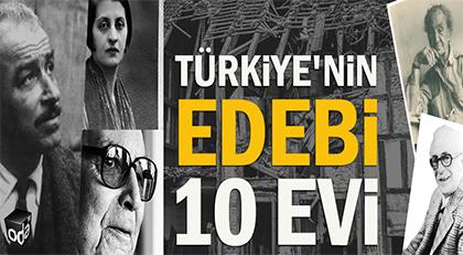 Türkiye'nin edebi 10 evi