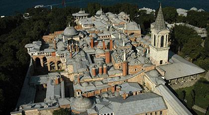 Topkapı Sarayı'nda neler oluyor: Çamlıca Cami detayı