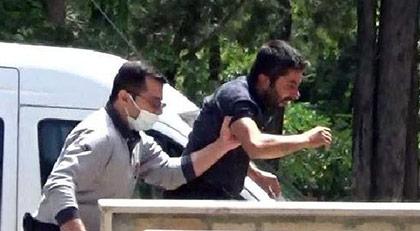 Haber takibindeki DHA muhabirine saldırı
