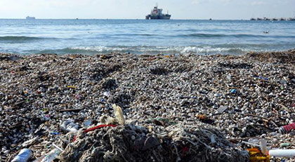 Dünyanın çöpünü alıp denize attık