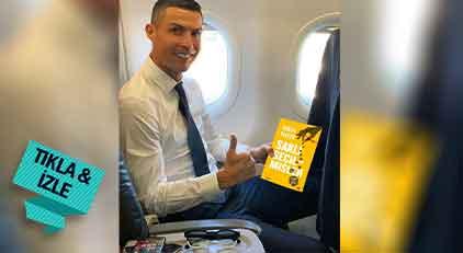 Cristiano Ronaldo Soner Yalçın mı okuyor