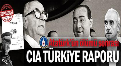 CIA raporunda detaylı analizleriyle yer alan 10 önemli Türk
