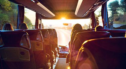 Otobüslere namaz düzenlemesi