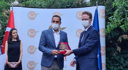 Ağırel'e 'araştırmacı gazetecilik' ödülü