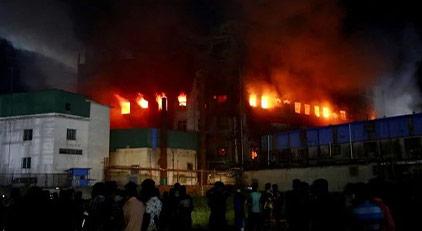 49 işçi yanarak can verdi