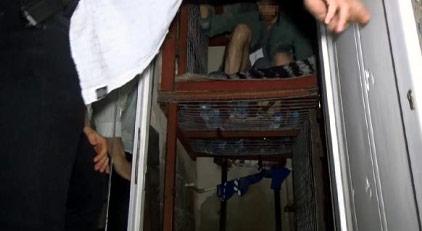 Çetenin çelik kafese koyduğu iki kişi nasıl kurtuldu