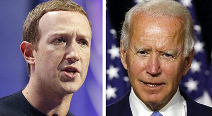 Biden ile Facebook arasındaki savaş kızıştı