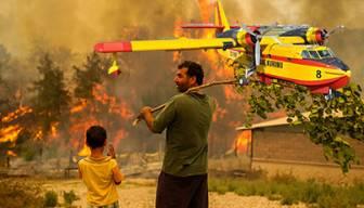 Türkiye yanıyor herkes bunu soruyor: THK uçakları nerede