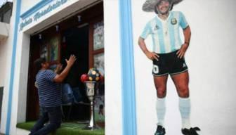 """""""Maradona Kilisesi"""" açıldı"""