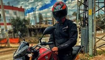 'Katilim' dediği motosikletiyle yaptığı kazada öldü