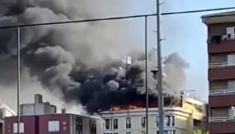 Ankara'daki yangın korkuttu