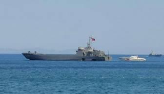 Alevler bölgeyi sardı Milli Savunma Bakanlığı gemi gönderdi