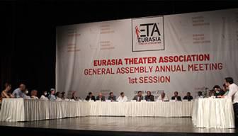 Maltepe'de düzenlenen Avrasya Tiyatrolar Birliği Genel Kurulu sona erdi
