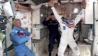 Uzayda bir ilk