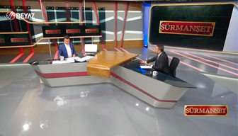 Gökçek'in televizyonunda deprem