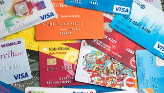 Ve kredi kartları alarm verdi, değişiyor