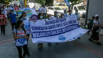 Memurlar iki koldan Ankara'ya yürüyor