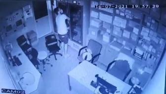 Kanser ilacı çalan hırsız yakalandı
