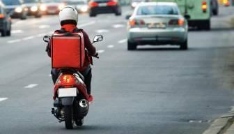 Kriz bu sefer motosikleti vurdu