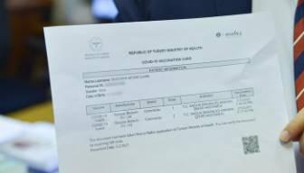 İstanbul'da sahte aşı kartı operasyonu