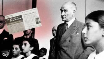 """""""Kitaplardaki Atatürk fotoğrafını yırtın"""" talimatı"""