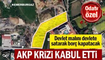 AKP krizi kabul etti