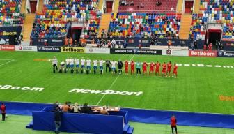 Türk futbol efsaneleri, ilk maçında mağlup