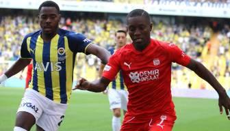 Fenerbahçe Sivasspor'a takıldı