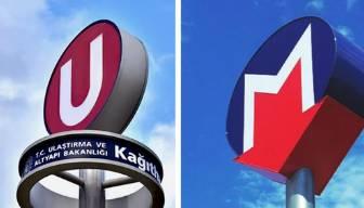 Metro logosunun arka planı ortaya çıktı
