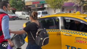 """Taksici bebekli aileyi yakın mesafe diye almadı, """"nereye şikayet edersen et"""" dedi: 34 TBD 41 plakalı taksiyi şikayet ediyoruz"""