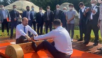 Bilal Erdoğan kiminle güreşti