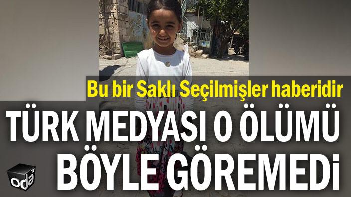 Bu bir Saklı Seçilmişler haberidir...  Türk medyası o ölümü böyle göremedi