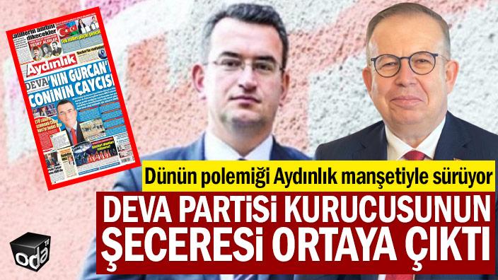 Dünün polemiği Aydınlık manşetiyle sürüyor: DEVA Partisi kurucusunun şeceresi ortaya çıktı