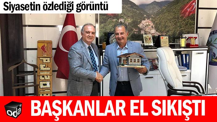 Siyasetin özlediği görüntü... CHP ve MHP'li başkanlar el sıkıştı