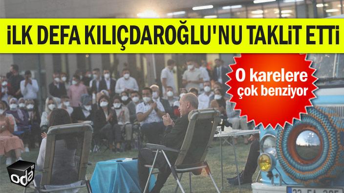 İlk defa Kılıçdaroğlu'nu taklit etti