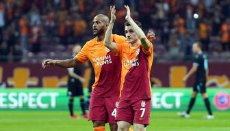 Galatasaray'da Marcao sevinci