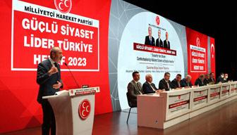 MHP hedefini açıkladı: Erdoğan