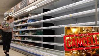 Reyonlar boşaldı, Noel yemeği tehlikeye girdi: Kıtlık uyarısı
