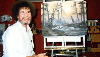 Bob Ross meğer mutsuzluğun resmini yapıyormuş