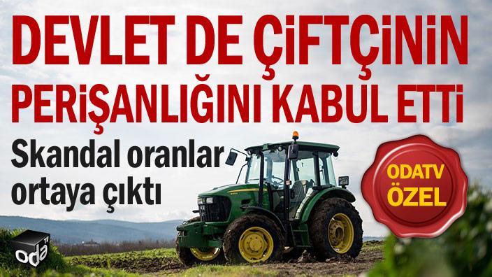 Skandal oranlar ortaya çıktı... Devlet de çiftçinin perişanlığını kabul etti