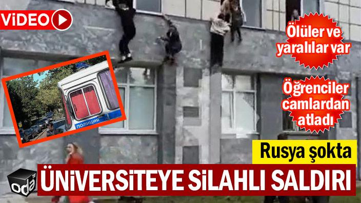Rusya şokta: Üniversiteye silahlı saldırı
