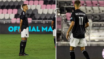 """Beckham"" yeniden sahalarda"