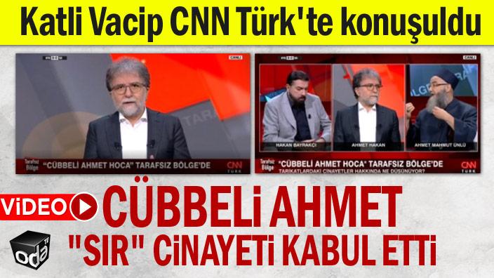"""Cübbeli Ahmet """"sır"""" cinayeti kabul etti"""