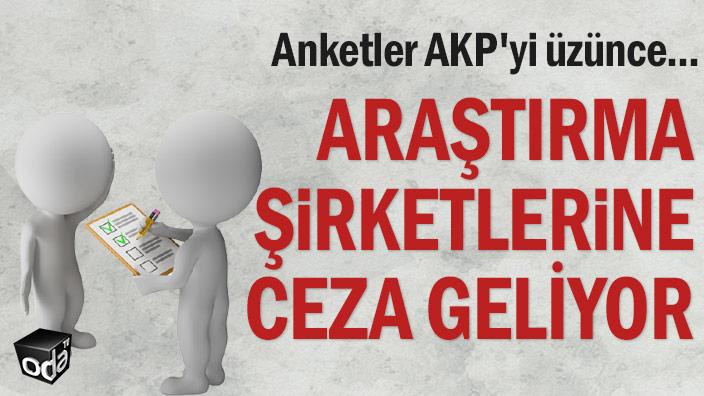Anketler AKP'yi üzünce... Araştırma şirketlerine ceza geliyor