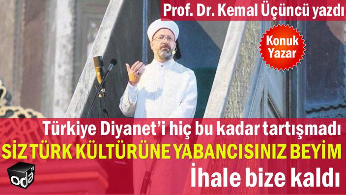 Türkiye Diyanet'i hiç bu kadar tartışmadı… Siz Türk kültürüne yabancısınız Beyim!