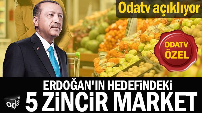 Odatv açıklıyor... Erdoğan'ın hedefindeki 5 zincir market